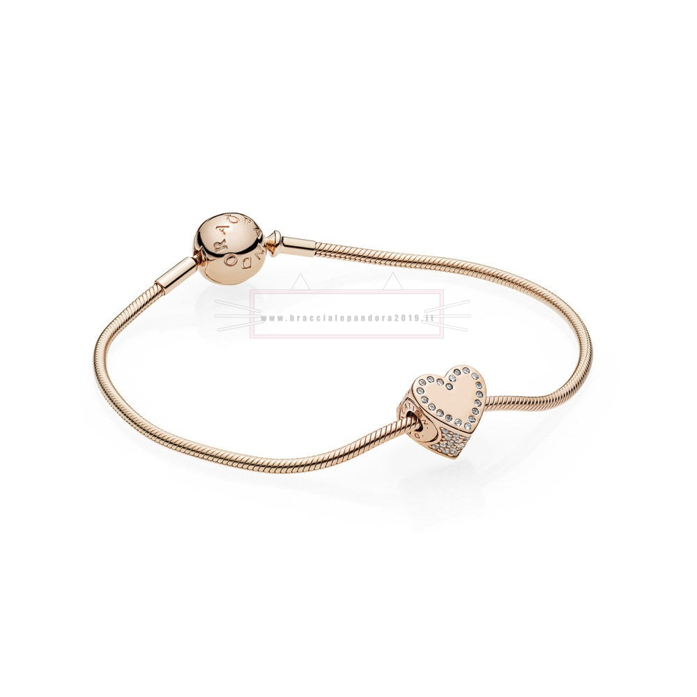 Ciondoli Pandora In Offerta Dedication Essence Bracelet Set