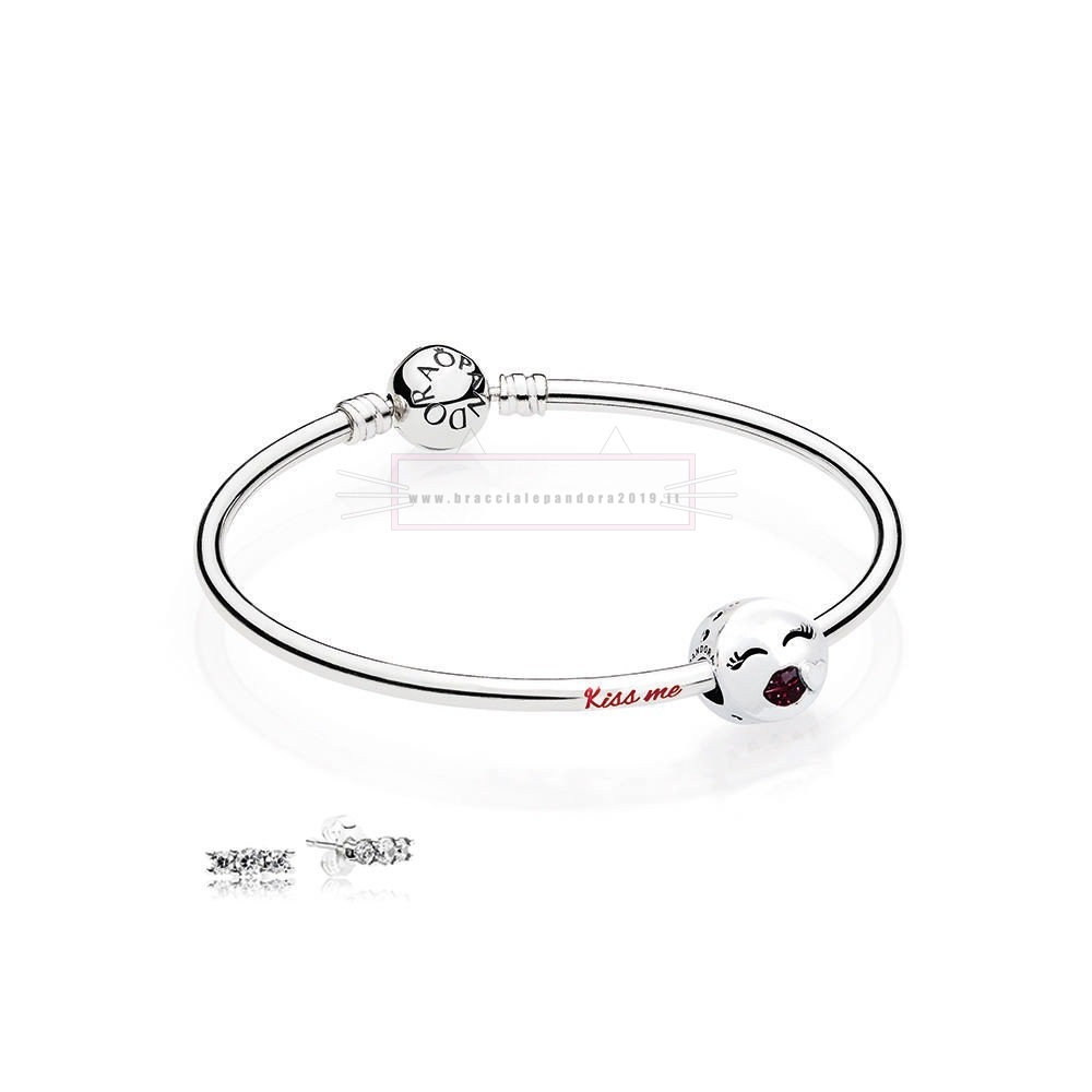Ciondoli Pandora In Offerta Bacio Me Bangle Regalo