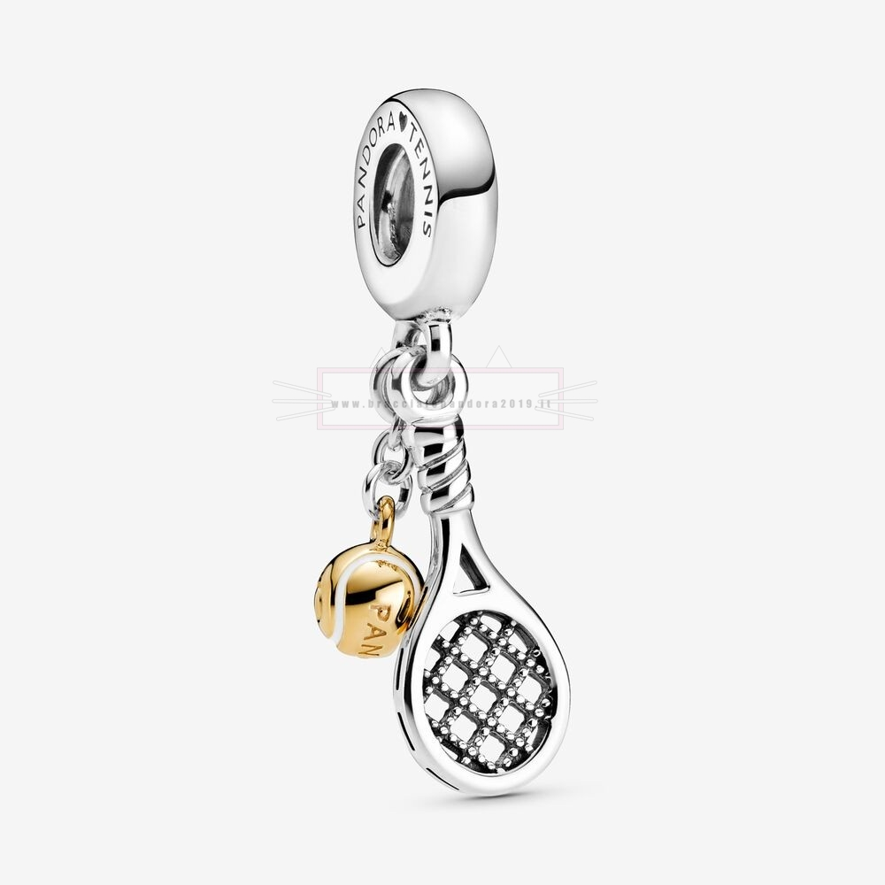 Ciondoli Pandora In Offerta Tennis Racket And Ball Dangle Charm